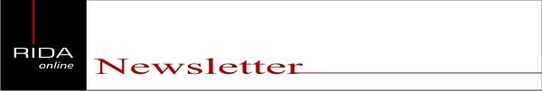 RidaOnline Newsletter-Archiv